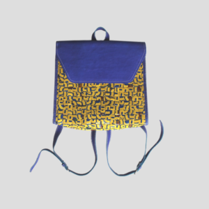 Tina backpack blue front