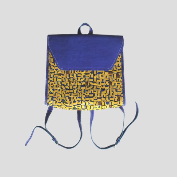 Tina backpack blue front