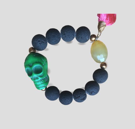 Volcanic Green bracelet