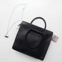 detail ESTEFAN handbag and KC necklace