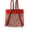 backside red c valentina backpack