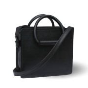 celestino black with detachable straps