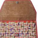 interior red tina c valentina back pack