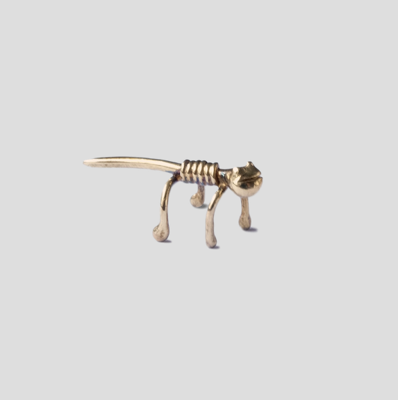 Gecko ear cuff - gold