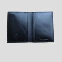 interior passport cover black