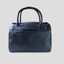 back Mateo Handbag with exterior pocket
