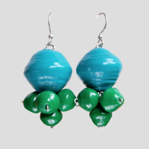 earrings veronica green